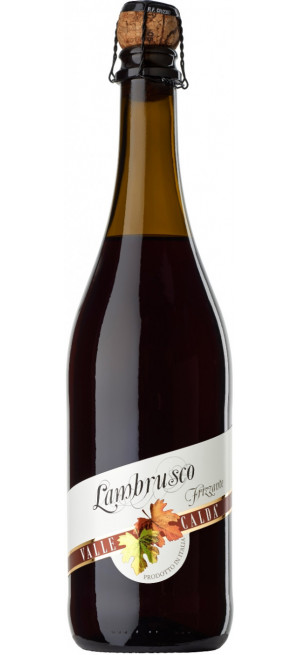 """Игристое вино """"Valle Calda"""" Rosso Amabile, Lambrusco IGT, 0.75 л"""