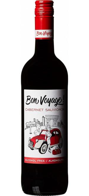 "Вино ""Bon Voyage"" Cabernet Sauvignon, Alcohol Free, 0.75 л"