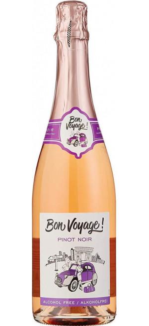 "Игристое вино ""Bon Voyage"" Pinot Noir, Alcohol Free, 0.75 л"