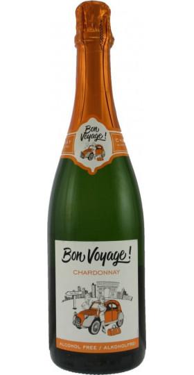 "Игристое вино ""Bon Voyage"" Chardonnay, Alcohol Free, 0.75 л"