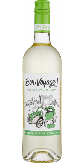 "Вино ""Bon Voyage"" Sauvignon Blanc, Alcohol Free, 0.75 л"