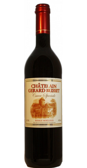 """Вино """"Chatelain Gerard Busset"""" Cuvee Speciale Rouge Moelleux, 0.75 л"""