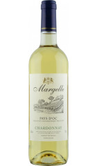 "Вино La Guyennoise, ""Margelle"" Chardonnay, Pays d'Oc IGP, 0.75 л"