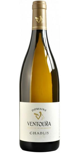 Вино Domaine Ventoura, Chablis AOC, 2017, 0.75 л