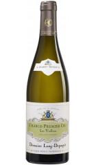 """Вино Domaine Long-Depaquit, Chablis Premier Cru """"Les Vaillons"""" AOC, 2018, 0.75 л"""