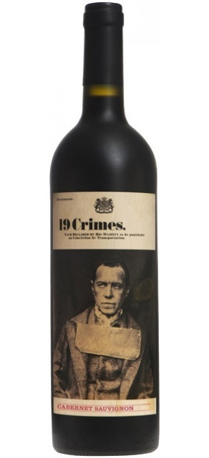 "Вино ""19 Crimes"", Cabernet Sauvignon, 2018, 0.75 л"
