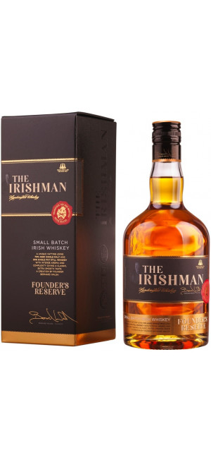 "Виски ""The Irishman"" Founder's Reserve, gift box, 0.7 л"