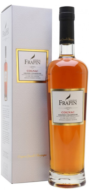 "Коньяк ""Frapin"" 1270, Grande Champagne, gift box, 0.7 л"