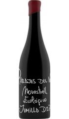 Вино Parajes del Valle, Monastrell Ecologico, Jumilla DOP, 2019, 0.75 л