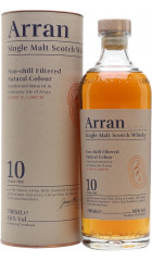 "Виски ""Arran"" 10 years, in tube, 0.7 л"