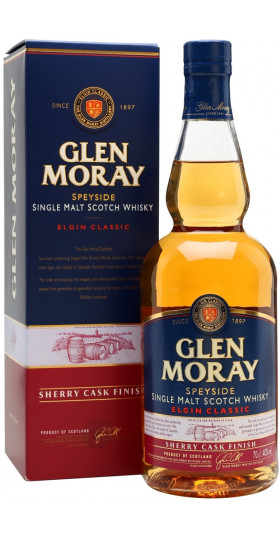 """Виски """"Glen Moray"""" Elgin Classic Sherry Cask Finish, gift box, 0.7 л"""