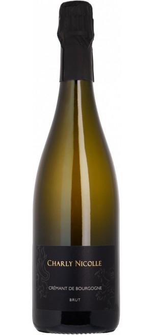 Игристое вино Domaine Charly Nicolle, Cremant de Bourgogne AOC Brut, 0,75 л