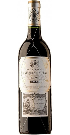"""Вино """"Herederos del Marques de Riscal"""" Reserva, Rioja DOC, 2016, 0.75 л"""