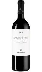 """Вино Bertinga, """"Sassi Chiusi"""", Toscana IGT, 2016, 0.75 л"""