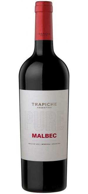 """Вино Trapiche, """"Pure"""" Malbec, 2019, 0.75 л"""