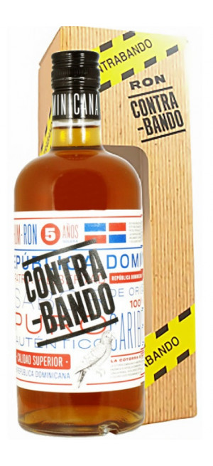 "Ром ""Contrabando"" 5 Years Old, gift box, 0.7 л"