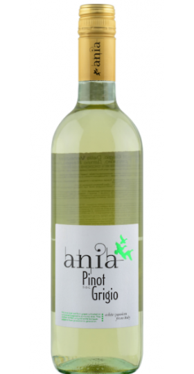 """Вино """"Pinot Grigio Delle Venezie Ania"""", 0.75 л"""