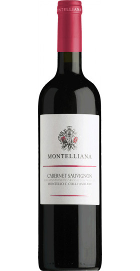 Вино Montelliana, Cabernet Sauvignon, Montello e Colli Asolani DOC, 0.75 л