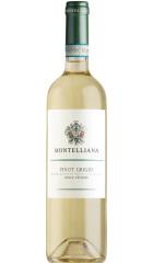 Вино Montelliana, Pinot Grigio delle Venezie DOC, 0.75 л