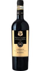 """Вино """"Poggio al Sale"""" Collezione Privata, Chianti DOCG Riserva, 0.75 л"""