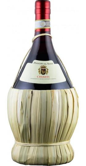 """Вино """"Poggio al Sale"""" Chianti DOCG, in Fiasco, 1.5 л"""