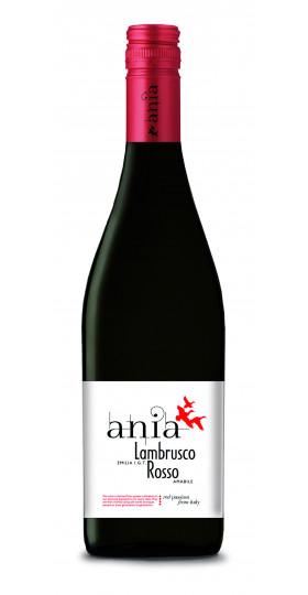 "Вино ""Lambrusco Emilia Rosso Ania"", 0.75 л"