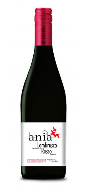"""Игристое вино """"Lambrusco Emilia Rosso Ania"""", 0.75 л"""