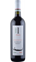 """Вино """"Vero Italia"""" Rosso, Semi-Sweet, 0.75 л"""