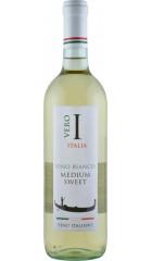 "Вино ""Vero Italia"" Bianco, Semi-Sweet, 0.75 л"