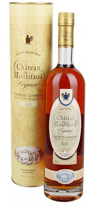 Коньяк Chateau de Montifaud XO, Fine Petite Champagne AOC, gift tube, 0.7 л