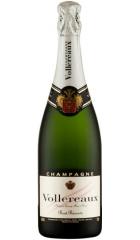 Шампанское Vollereaux, Brut Reserve, Champagne AOC, 0.75 л