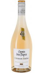 "Вино ""Chemin des Papes"" Blanc, Cotes du Rhone AOC, 2019, 0.75 л"