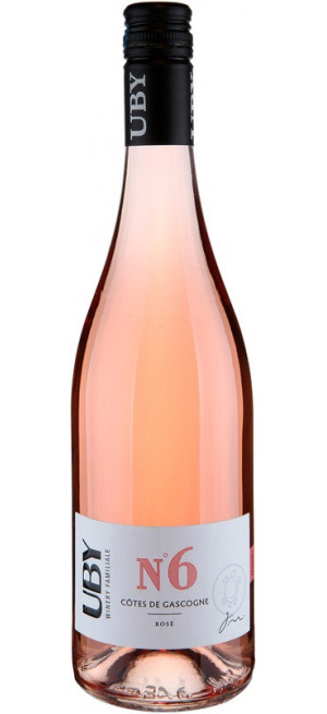 """Вино """"Uby"""" №6 Rose, Cotes de Gascogne IGP, 0,75 л"""