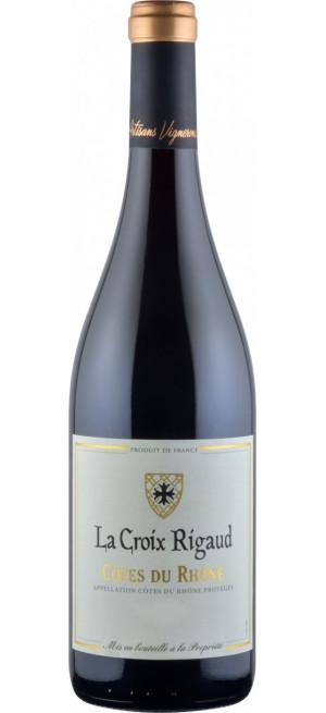 """Вино """"La Croix Rigaud"""" Cotes-du-Rhone AOP, 2015, 0.75 л"""