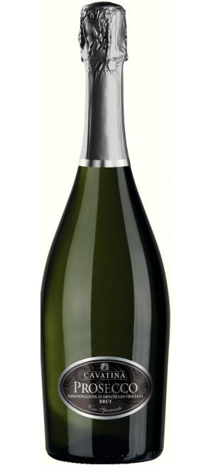 "Игристое вино ""Cavatina"" Prosecco DOC Brut, 0.75 л"