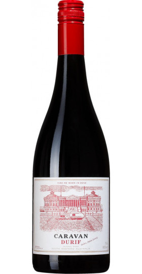 """Вино Quarisa, """"Caravan"""" Durif, 2016, 0.75 л"""