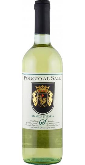 """Вино """"Poggio al Sale"""" Bianco d'Italia, 0.75 л"""