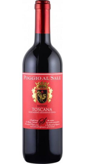 """Вино """"Poggio al Sale"""" Rosso Toscana IGT, 0.75 л"""