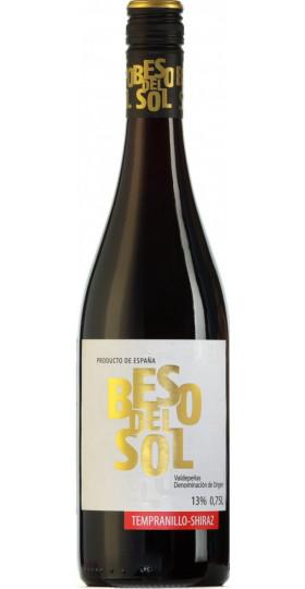 "Вино ""Beso del Sol"" Tempranillo-Shiraz, Valdepenas DO, 0.75 л"