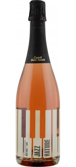 "Вино игристое ""Cava Brut Rose. Reserva Jazz Nature"", 0.75 л"