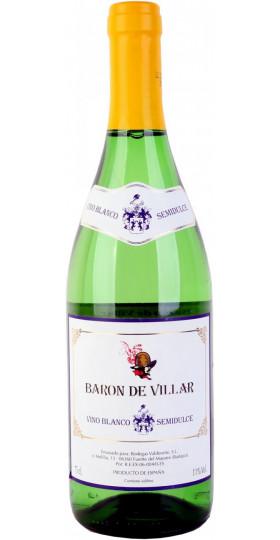 "Вино ""Baron de Villar"" Blanco Semidulce, 0.75 л"