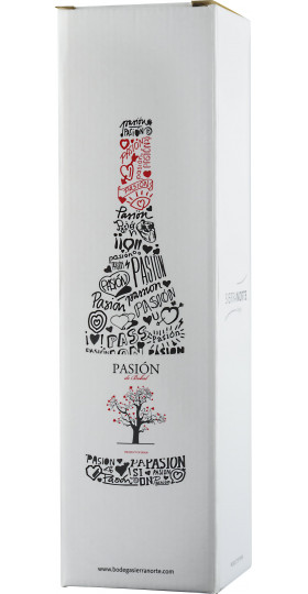 "Вино ""Pasion"" de Bobal Red, Utiel-Requena DO, gift box, 0.75 л"