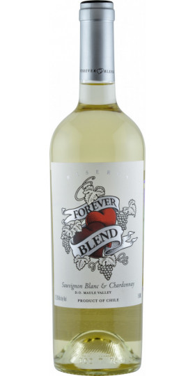 "Вино ""Forever Blend"" Sauvignon Blanc-Chardonnay Reserva, Maule Valley DO, 0.75 л"
