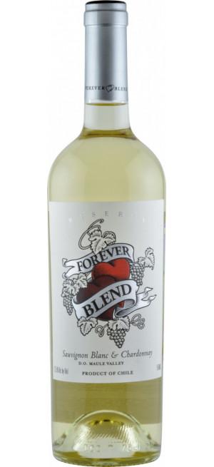 "Вино ""Forever Blend"" Sauvignon Blanc-Chardonnay Reserva, Maule Valley DO, 0.75 л"