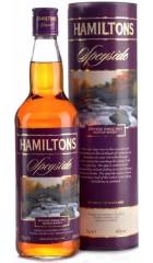"Виски ""Hamiltons"" Speyside Single Malt, in tube, 0.7 л"
