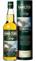 "Виски ""Hamiltons"" Islay Blended Malt, in tube, 0.7 л"
