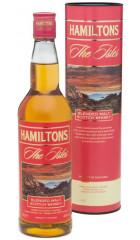 "Виски ""Hamiltons"" Isles Blended Malt, in tube, 0.7 л"