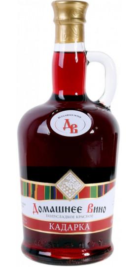 """Вино Vinprom Rousse, """"Domashnee Vino"""" Kadarka, 0.75 л"""