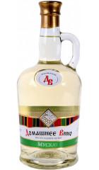 """Вино Vinprom Rousse, """"Domashnee Vino"""" Muscat, 0.75 л"""