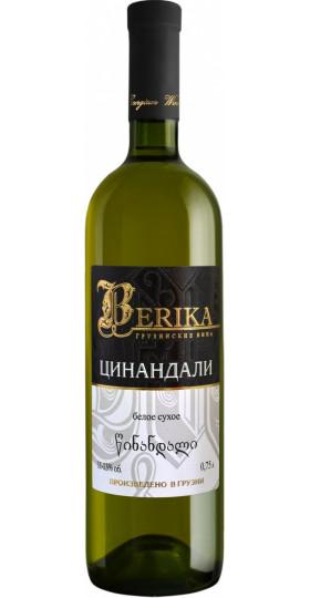 "Вино Marniskari, ""Berika"" Tsinandali, 0.75 л"